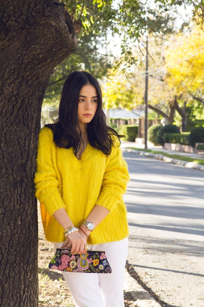 yellow sweater6