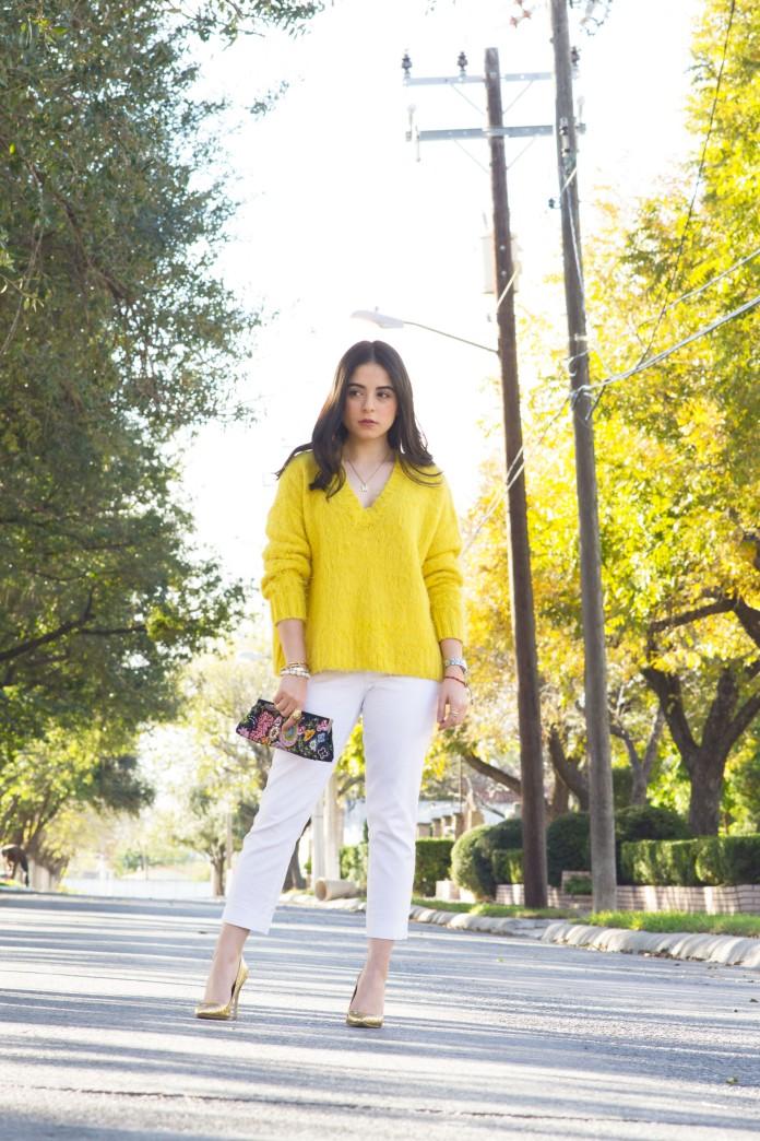yellow sweater7